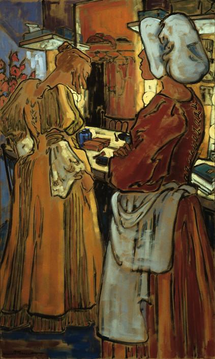 Jeannette Perreault fait partie des peintres canadiens