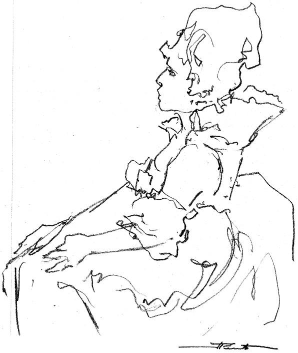 Pascale Montpetit par Jeannette Perreault