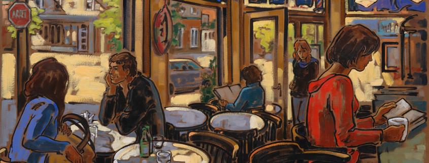 Artiste peintre canadien Montréal