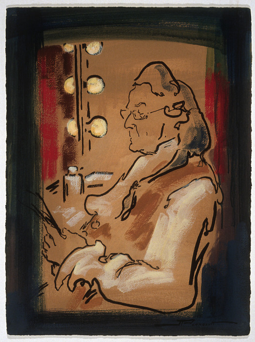 Jeannette Perreault fait partie des peintres québécois