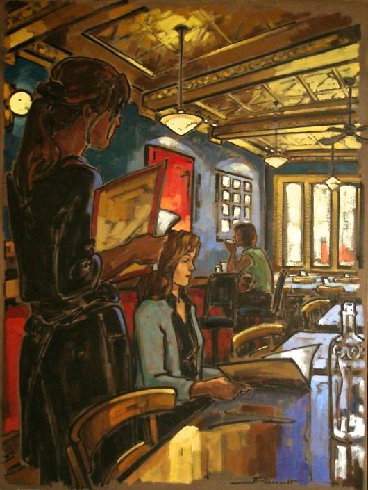 Toile artiste peintre