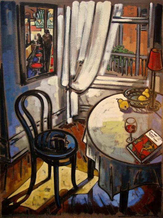 Peintre québécois contemporain